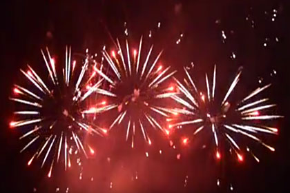 Fuochi d'artificio 2018 [Video]